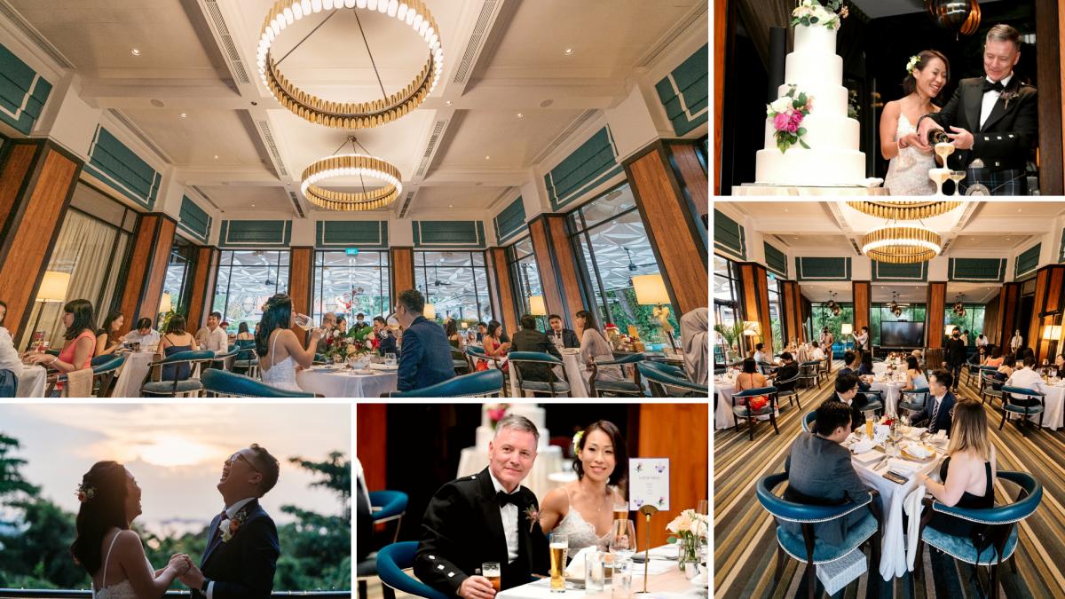 The Cliff Restaurant - Wedding Reception